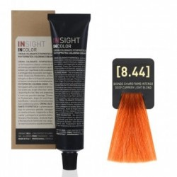Fitoproteinowy krem koloryzujący 8.44 deep coppery, light blond INSIGHT 60g