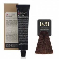 Fitoproteinowy krem koloryzujący 4.5 mahogany brown INSIGHT 60g