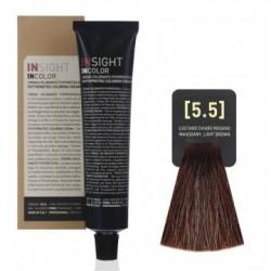 Fitoproteinowy krem koloryzujący 5.5 mahogany light brown INSIGHT 60g