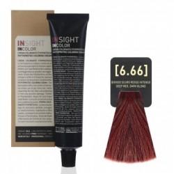 Fitoproteinowy krem koloryzujący 6.66 deep red, dark blond INSIGHT 60g