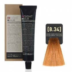 Fitoproteinowy krem koloryzujący 8.34 golden copper, light blond INSIGHT 60g