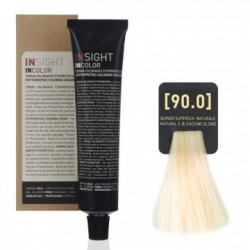 Fitoproteinowy krem koloryzujący 90.0 natural, super bleaching blond INSIGHT 60g
