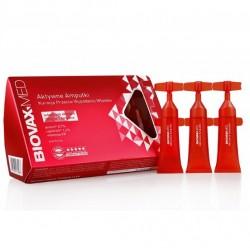Kuracja przeciw wypadaniu włosów w ampułkach BiovaxMed 10 x 6,5ml