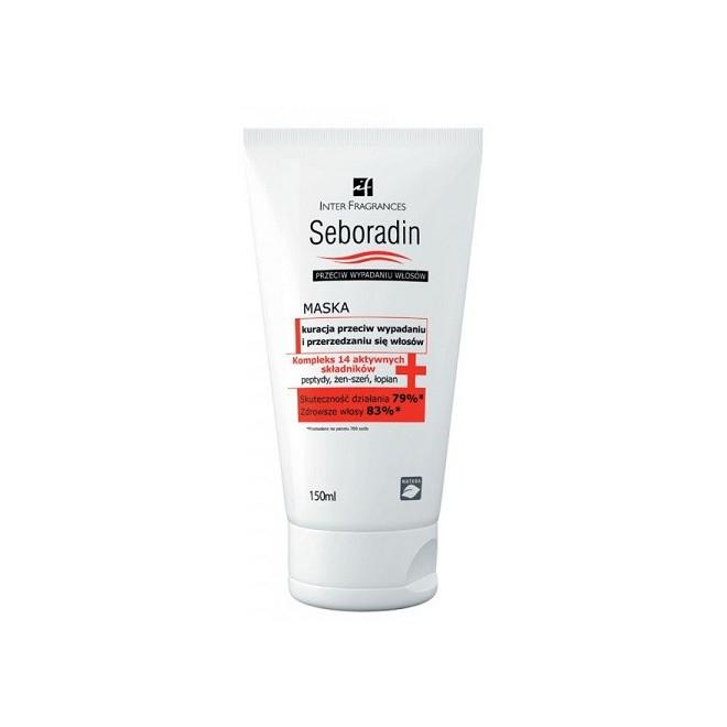 Maska przeciw wypadaniu włosów, Seboradin, 200ml