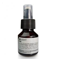 Multifunkcyjny olejek do golenia i pielęgnacji brody, Insight Man, 50ml