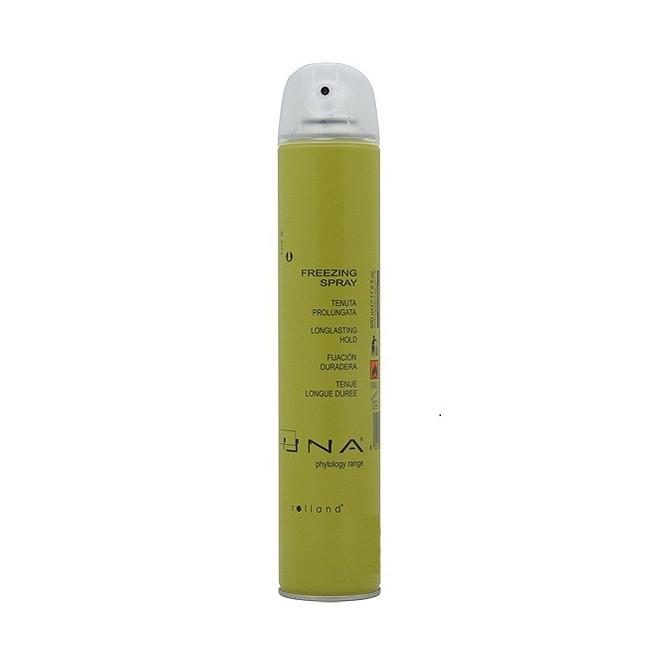 Spray zamrażający do włosów, Freezing Spray Una, 500ml