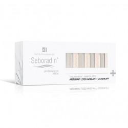 Kuracja przeciw wypadaniu włosów i przeciwłupieżowa dla mężczyzn, Seboradin Professional, 14 x 5,5ml