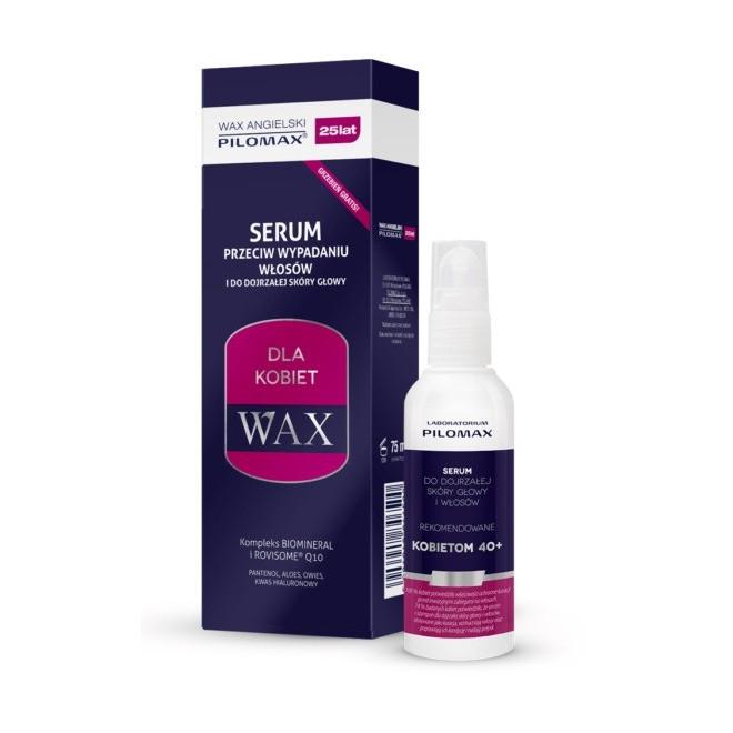 Serum przeciw wypadaniu włosów dla kobiet, WAX, 75ml
