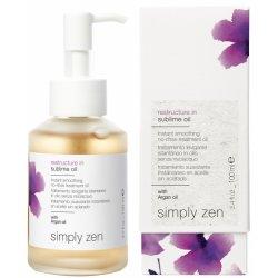 Simply Zen Restructure In błyskawicznie wygładzający olejek bez spłukiwania 100ml