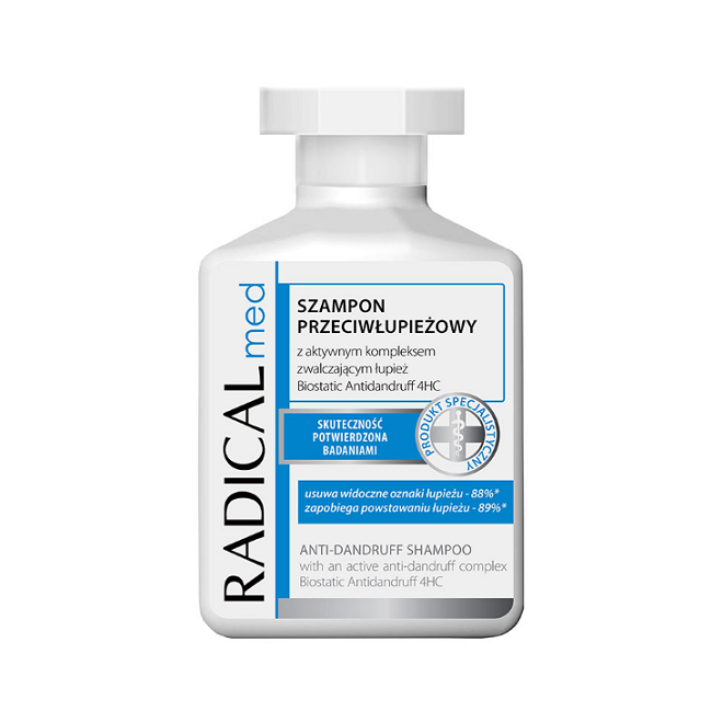 Szampon przeciwłupieżowy Radical Med, 300ml