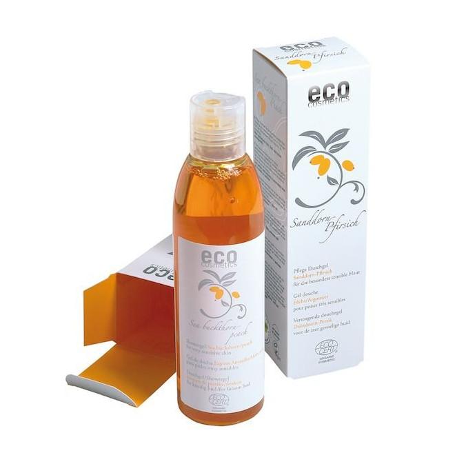 Ekologiczny żel pod prysznic z rokitnikiem i brzoskwinią, Eco Cosmetics, 200ml