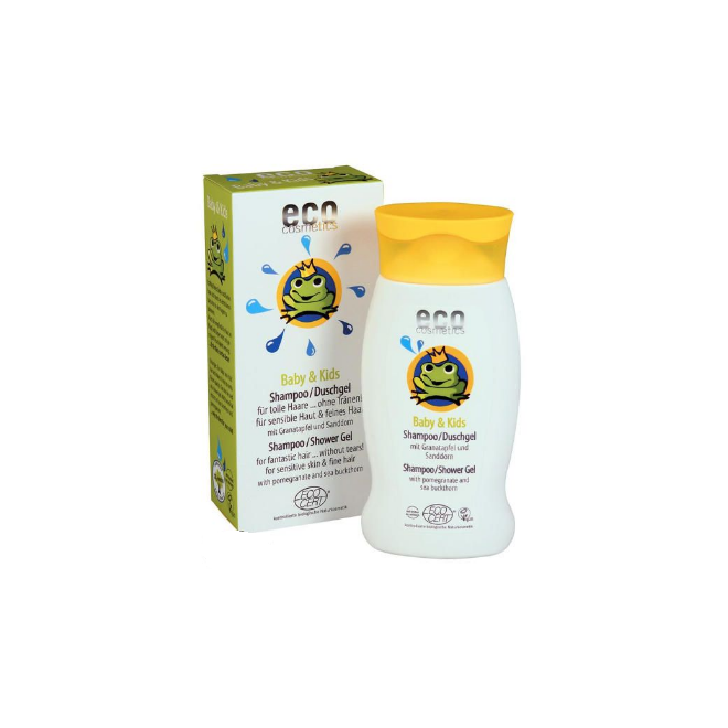 Ekologiczny szampon / żel dla dzieci i niemowląt, Eco Cosmetics, 200ml