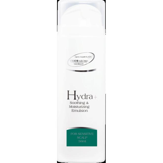 Emulsja kojąca oraz nawilżająca suchą i wrażliwą skórę głowy Hydra+ Trico Aroma, 150ml