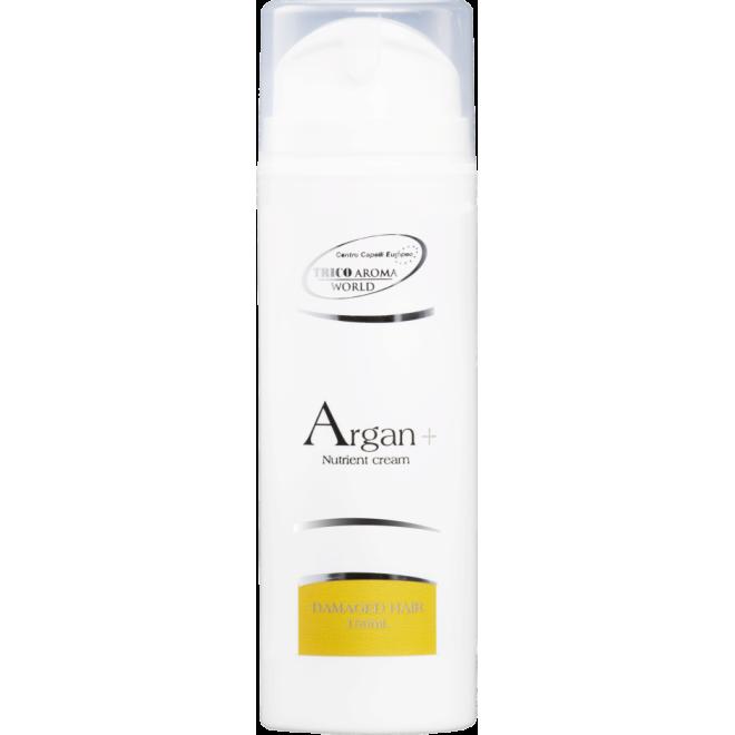 Odżywka w kremie, regenerująca zniszczone i suche włosy, Argan+ Trico Aroma, 150ml