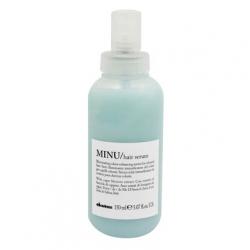 Rozświetlające serum bez spłukiwania przedłużające trwałość koloru, MINU hair serum, Davines, 150ml