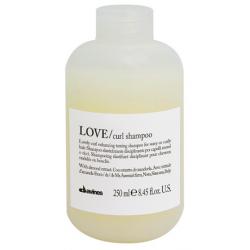 Szampon uelastyczniający i dyscyplinujący, LOVE curl shampoo, Davines, 250ml