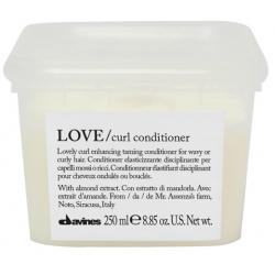 Odżywka uelastyczniająca i dyscyplinująca, LOVE curl conditioner, Davines, 250ml
