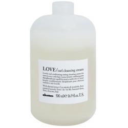 Oczyszczający i odżywczy krem do włosów falowanych i bardzo kręconych, LOVE curl cleansing cream, Davines, 500ml