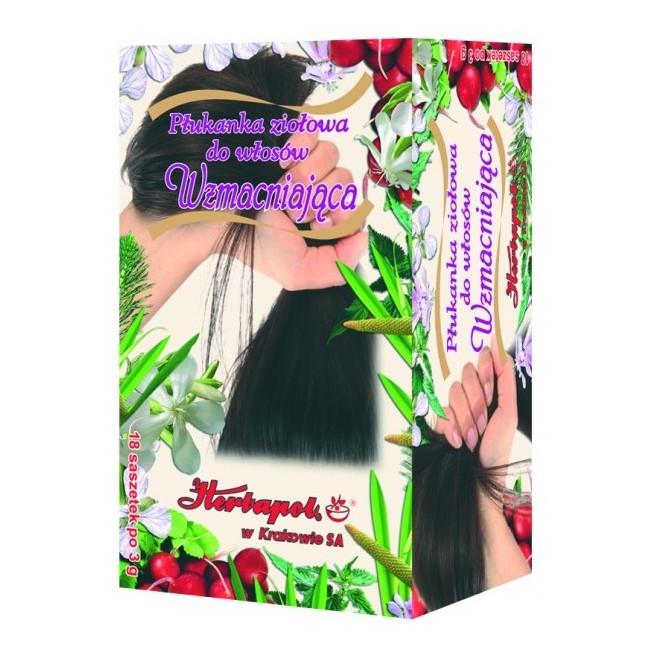 Ziołowa płukanka wzmacniająca włosy Herbapol
