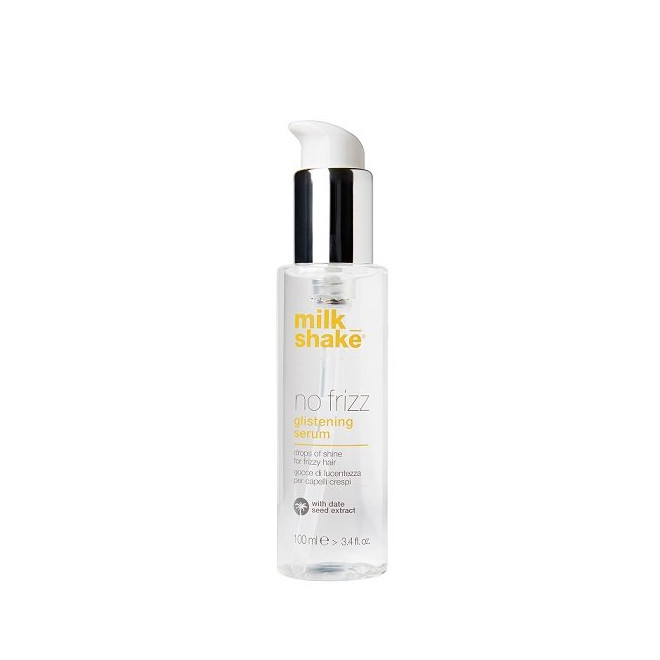 Serum nabłyszczające do włosów puszących się, Glistening Serum Milkshake, 100ml