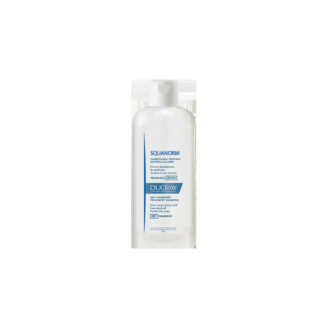 Szampon przeciwłupieżowy łupież suchy,SQUANORM DUCRAY, 200ml
