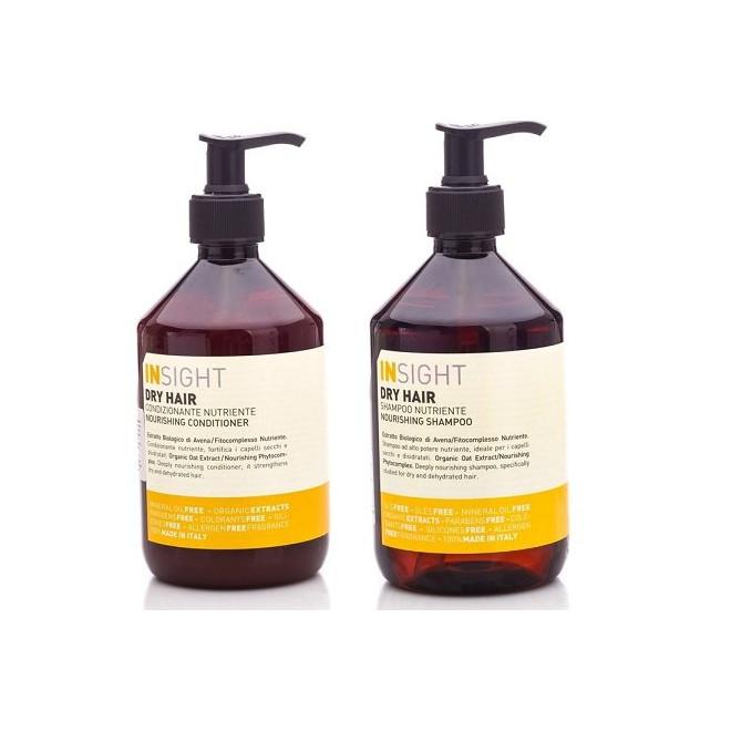 Zestaw głęboko odżywiający szampon + odżywka Dry Insight