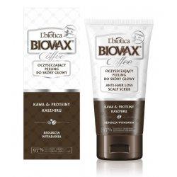 Oczyszczający peeling do skóry głowy, BIOVAX GLAMOUR COFFEE, 125ml