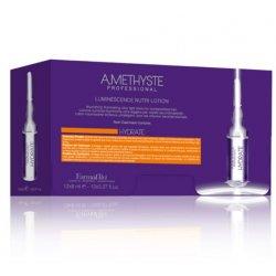 Odżywczo - nawilżający lotion w ampułkach, Hydrate Amethyste Farmavita, 12 x 8ml