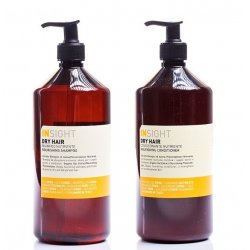 Zestaw głęboko odżywiający, szampon + odżywka Dry Hair Insight 900ml