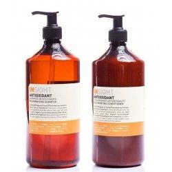 Zestaw odmładzająco-ochronny, szampon + odżywka, Antioxidant Insight 900ml