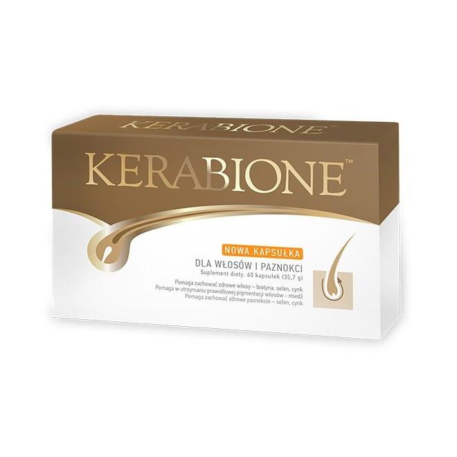 Suplement diety dla włosów i paznokci, Kerabione