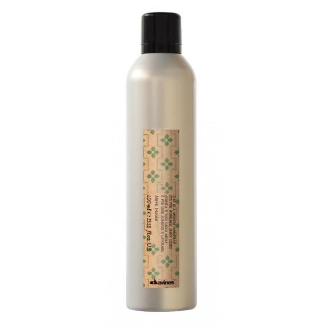 Lakier średnio utrwalający, Medium Hairspray Davines, 400ml