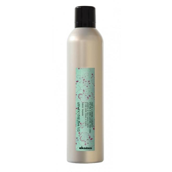 Lakier mocno utrwalający, Strong Hairspray Davines, 400ml