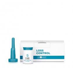 Lotion wzmacniający włosy w ampułkach, LOSS CONTROL LOTION DOUBLE ACTION, Hair Company, 10x10 ml