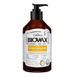 Odżywka myjąca z glinką, żółta ekoglinka, Lbiotica Biovax, 200ml