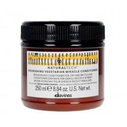 Nawilżająca odżywka do suchych i zniszczonych włosów, NOURISHING vegetarian miracle conditioner, Davines, 250ml