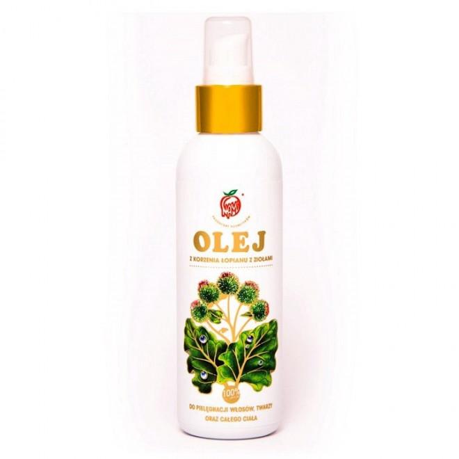 Olej z korzenia łopianu z ziołami 150 ml
