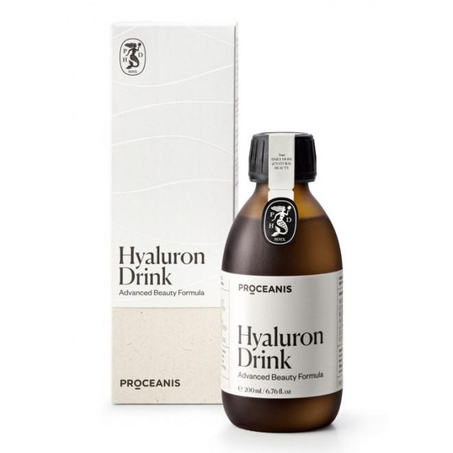Hyaluron Drink Proceanis® – innowacyjny suplement dla włosów, skóry i paznokci, 200ml