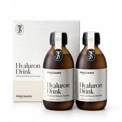 Hyaluron Drink Proceanis® – innowacyjny suplement dla włosów, skóry i paznokci, 2x 200ml