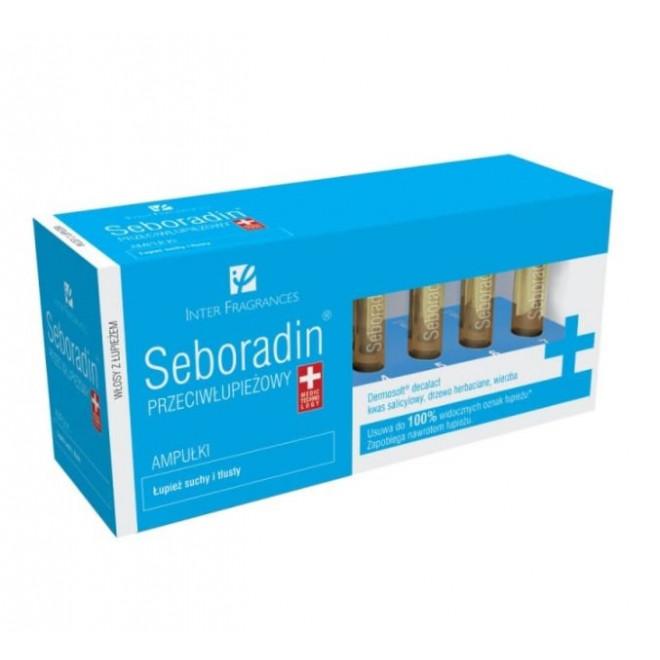 Ampułki przeciwłupieżowe Seboradin, 14x 5,5ml