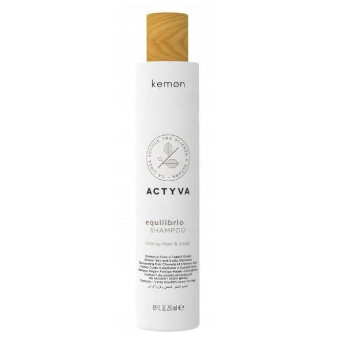 Produkty do przetłuszczającej się skóry głowy, EQUILIBRIO SHAMPOO Kemon, 250ml