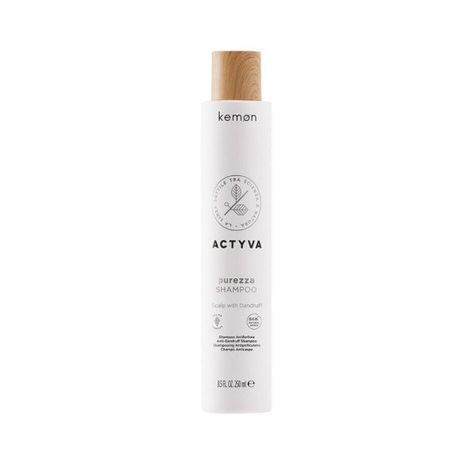 Produkty do skóry głowy z łupieżem, Purezza Shampoo Kemon, 250ml