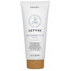 Maska do włosów bardzo suchych, Nutrizione Ricca Mask Kemon, 200ml