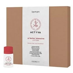 Intensywny lotion przeciw wypadaniu włosów dla kobiet, P Factor Intensive Woman Lotion Kemon, 12x 6ml