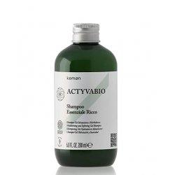 Szampon nawilżający i zmiękczający, Shampoo Essenziale Ricco Kemon, 200ml