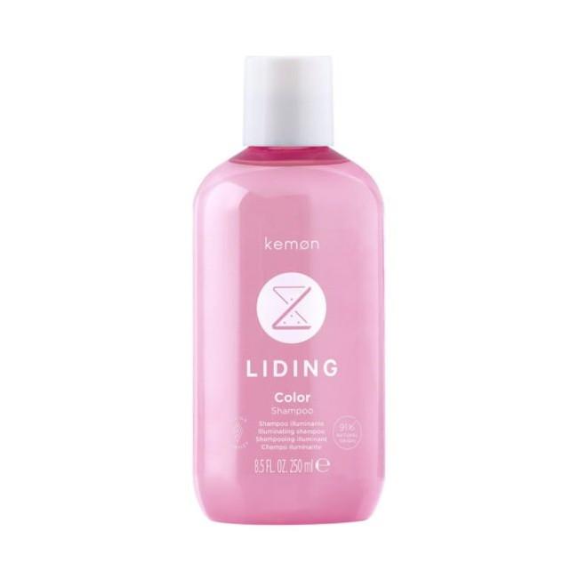 Szampon rozświetlający do włosów farbowanych, Color Shampoo Kemon, 250ml
