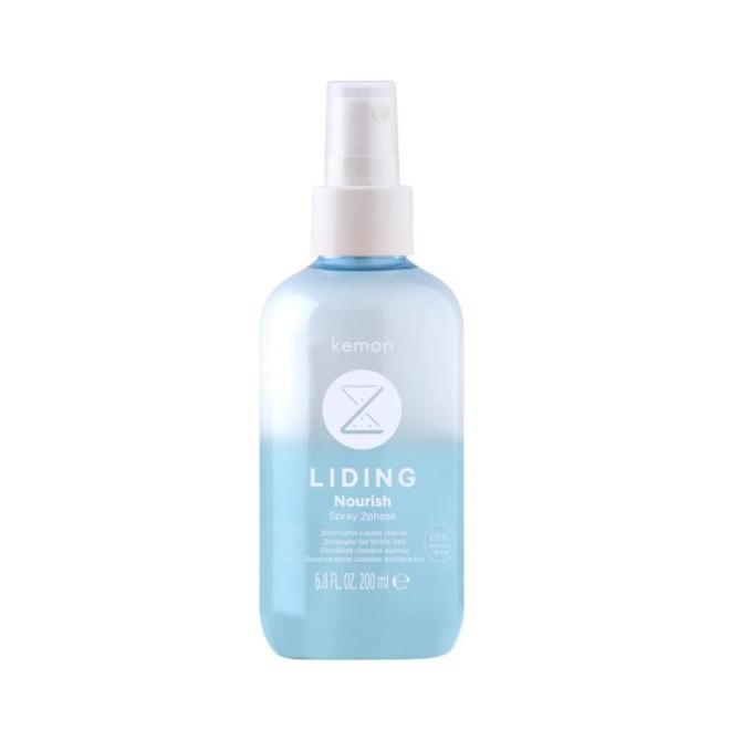 Spray nawilżający do włosów, Nourish 2 Phase Spray Kemon, 200ml