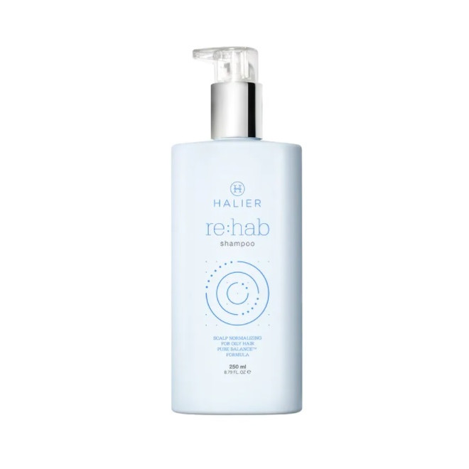 Szampon do włosów skłonnych do przetłuszczania się, Re:hab shampoo Halier, 250ml