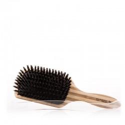 Szczotka bambusowa z naturalnym włosiem