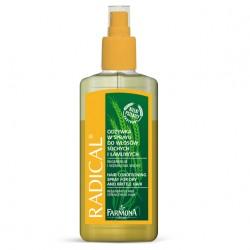 Odżywka w sprayu do włosów suchych i łamliwych Radical FARMONA